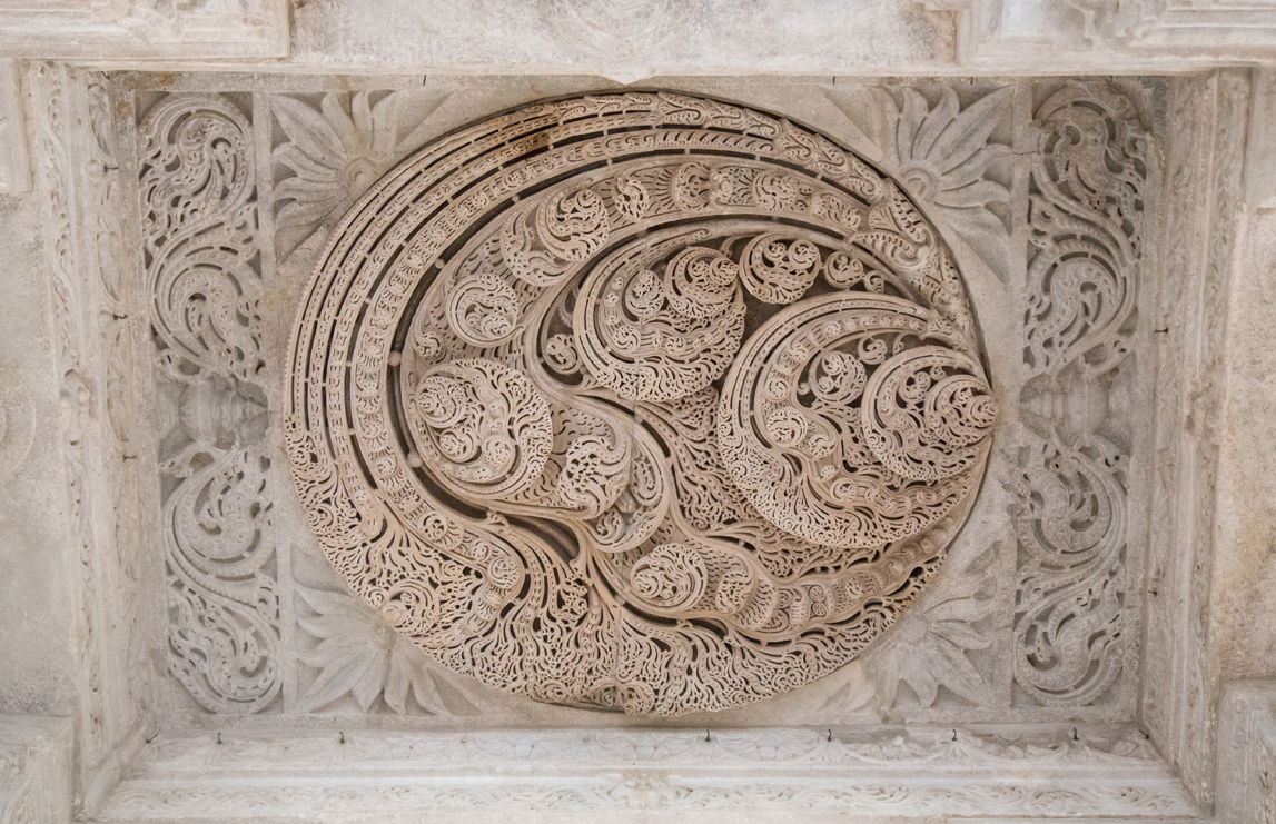 My favourite ceiling carving...so ethereal!