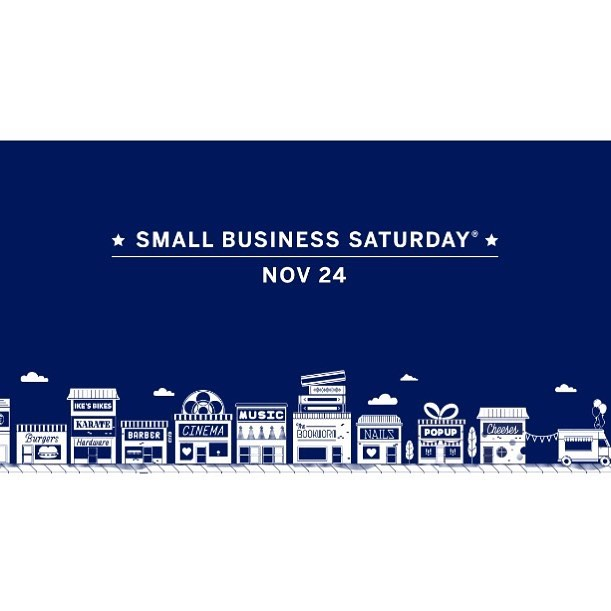 Today is Small Business Saturday! Its a beautiful day to support local businesses in your neighborhood 🏘