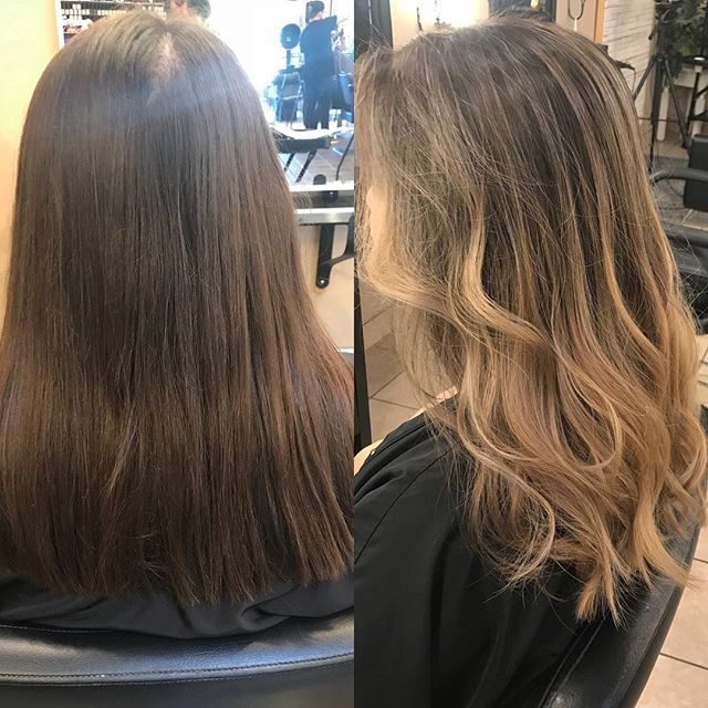 Color before and after by @eve29