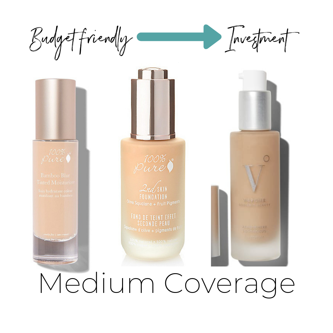 100%Pure Bamboo Blur Foundation $46    ThinkDirty 1     100%Pure Fruit Pigmented® 2nd Skin Foundation $47    ThinkDirty 1     Vapour Atmosphere Soft Focus Foundation $54    Not Listed on ThinkDirty