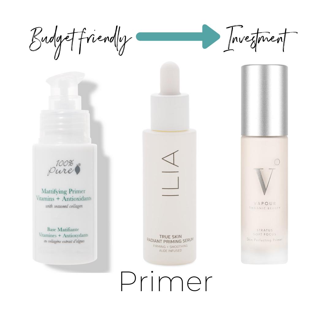 100% Pure Primer $49    ThinkDirty 0     ilia True Skin Radiant Priming Serum $52    Not listed on ThinkDirty     Stratus Soft Focus Skin Perfecting Primer $60    Not listed on ThinkDirty