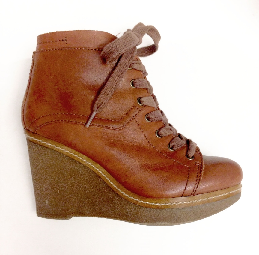 Nine Westshoes, and, the future reason for breaking my ankles.