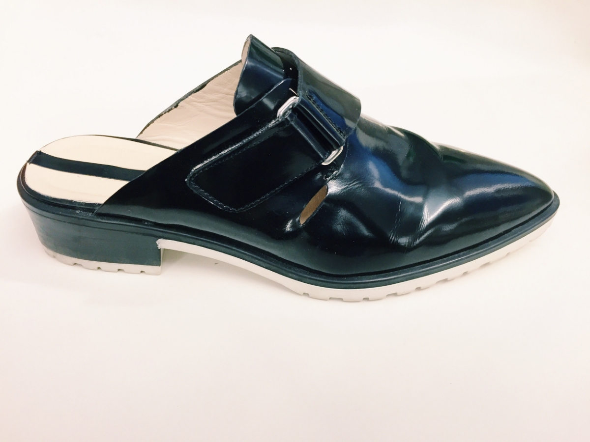 Zara shoes. I can see my reflection in them, so FYI all you narcissists out there.