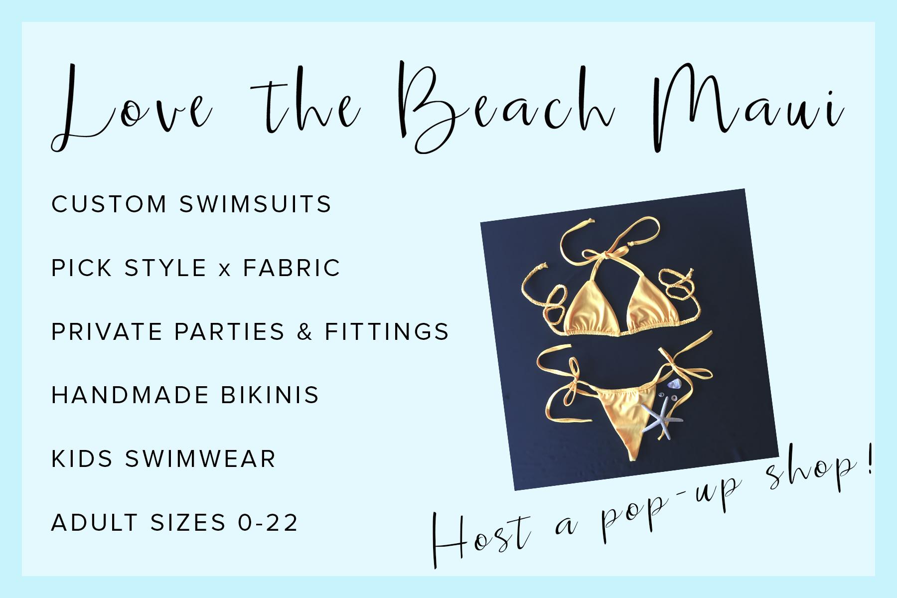 Host a bikini party
