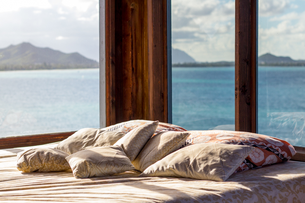 Bedroom on the ocean