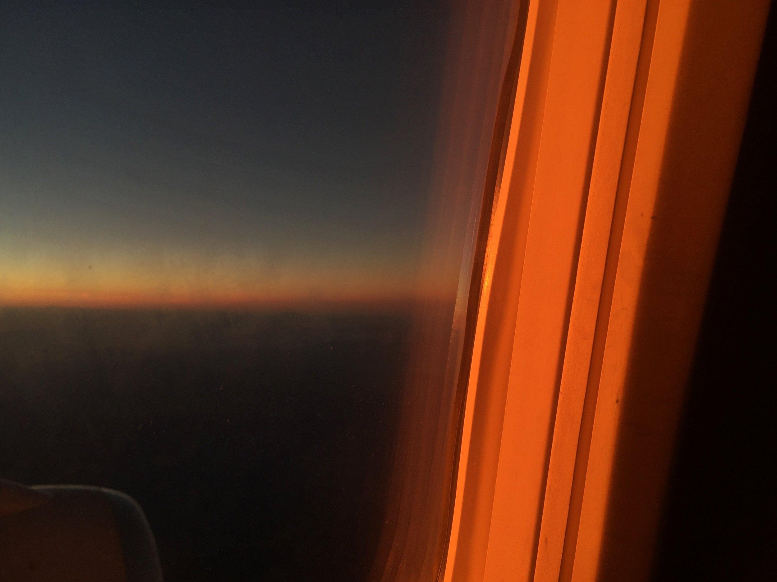 Sunset LAX-DEN