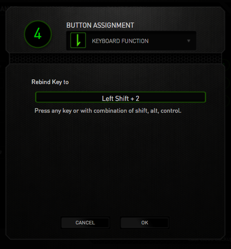 Razer Synapse's Keyboard Function feature