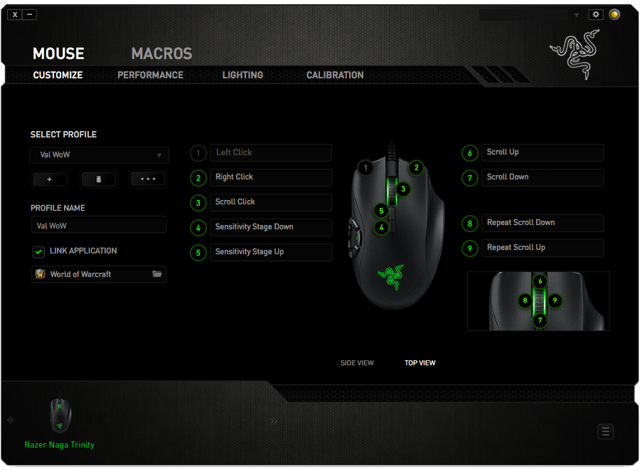 Razer Synapse app on Mac OS
