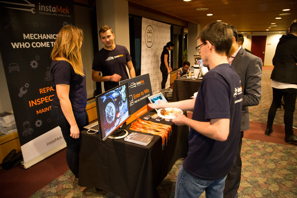 instaMek at Startup Calgary Launch Party 2016