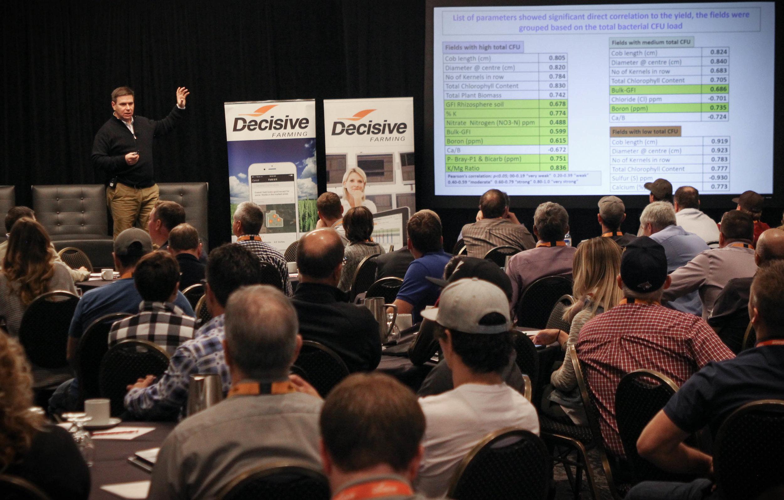 Dan Clarke, Executive VP Business Development & Agronomy at A&L Canada Laboratories