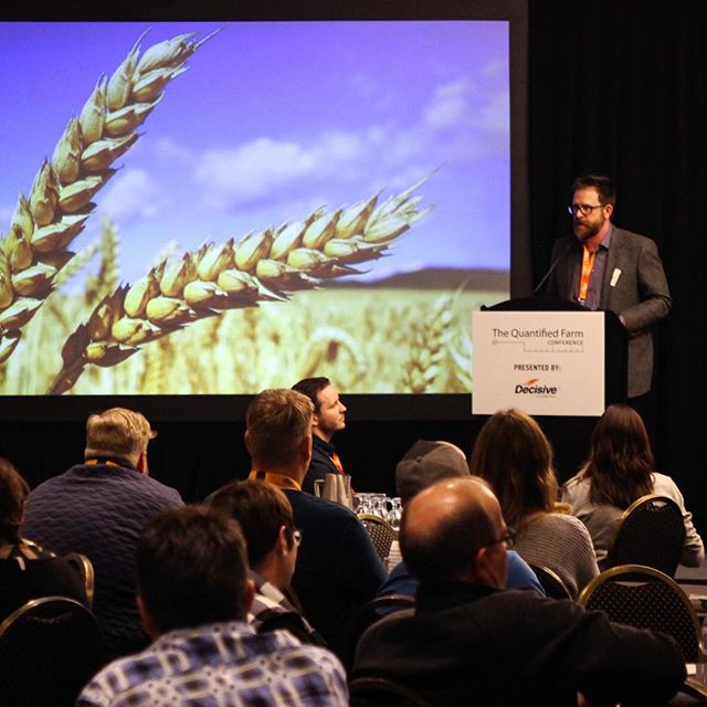 The Decisive Farming #QuantifiedFarm Conference celebrated the Spirit of Farm Innovation. Attendees learned about the future of #AgTech and connected with top farm innovators from across Western Canada. Check out the recap on our blog. Link in bio. 📷 @hardinghama . . . . #yyc #yycliving #yycnow #capturecalgary #captureyyc #calgarylife #eventprofs #yycevents #yycbusiness #hustle #girlboss #womenentrepreneurs