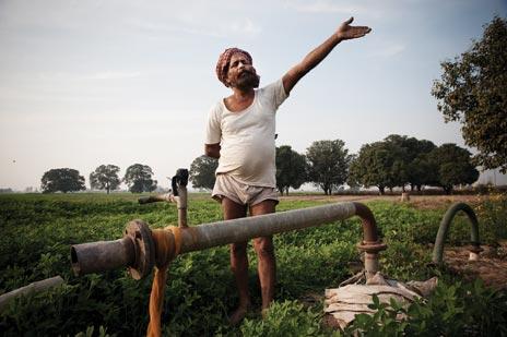 An irrigation pump in Punjab.  Source .