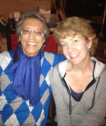 "Working with legend Tommy Tune in ""Arrested Development"" (2014)"