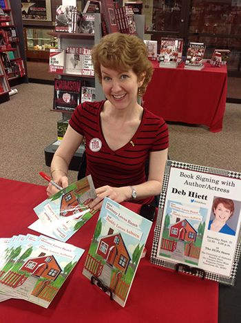 At a book signing at the University of Alabama bookstore