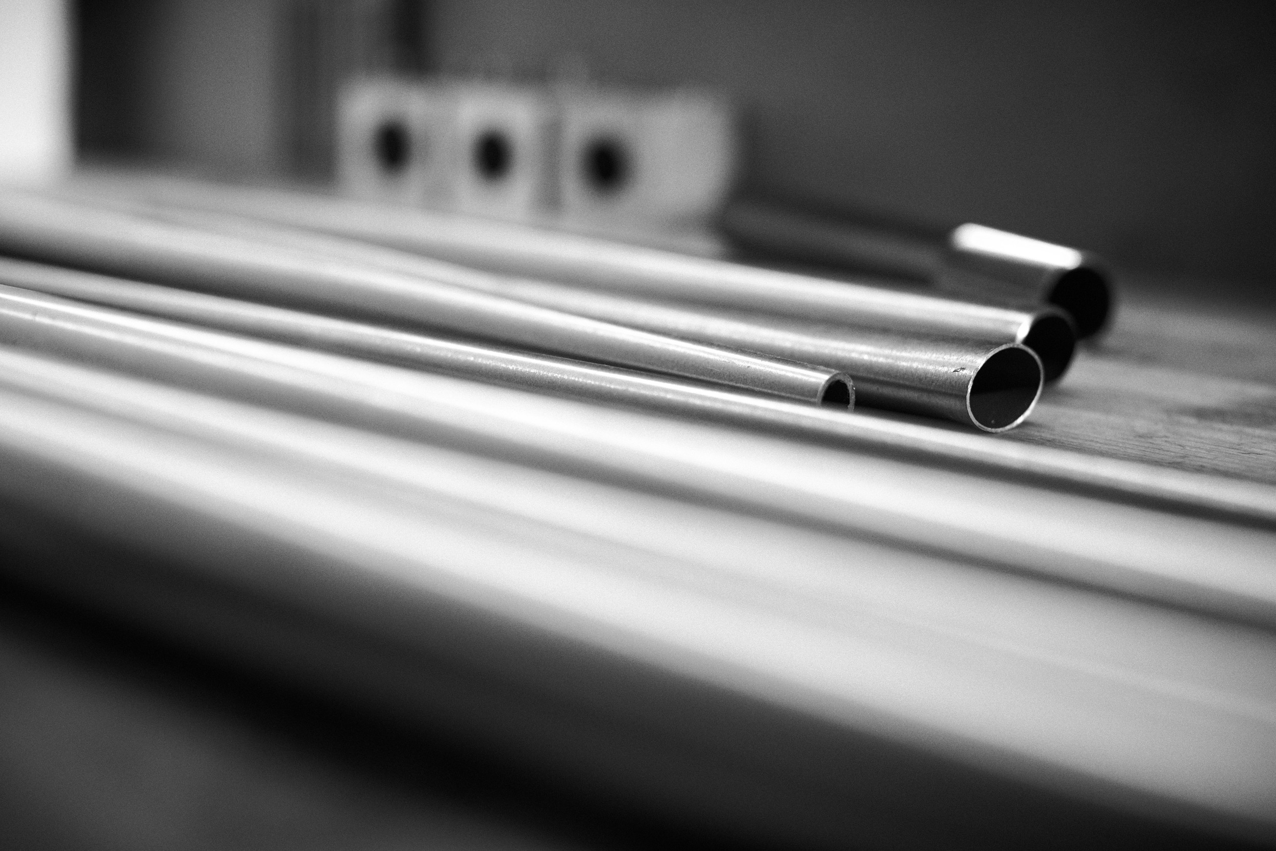 I offer a wide selection of steel tubing from Columbus, Reynolds and Tange with various diameters and wall thickness.