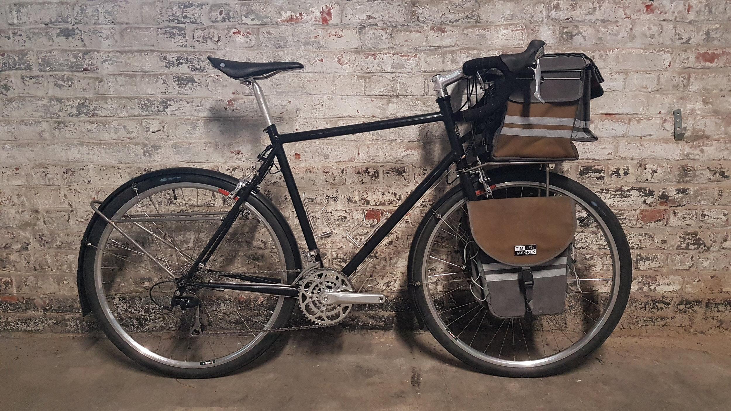 Philippe's touring bike