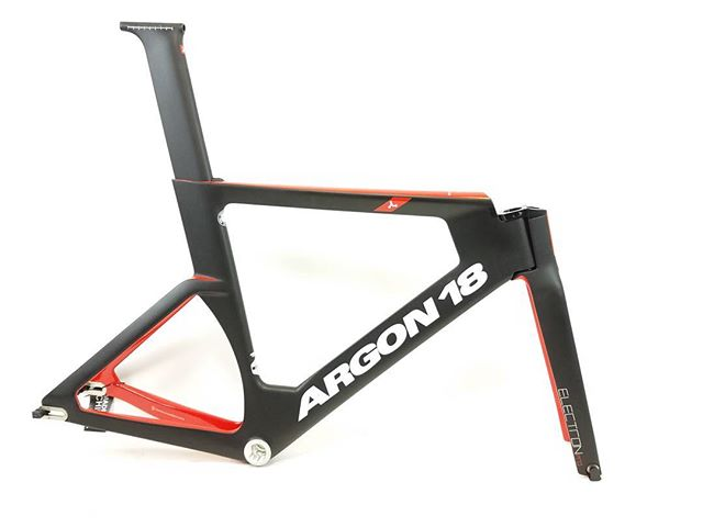 The New 2017 Argon 18 Electron Pro Track Frameset is In Da House! #argon18bike #argon18 #trackbike #trackracing #velodrome