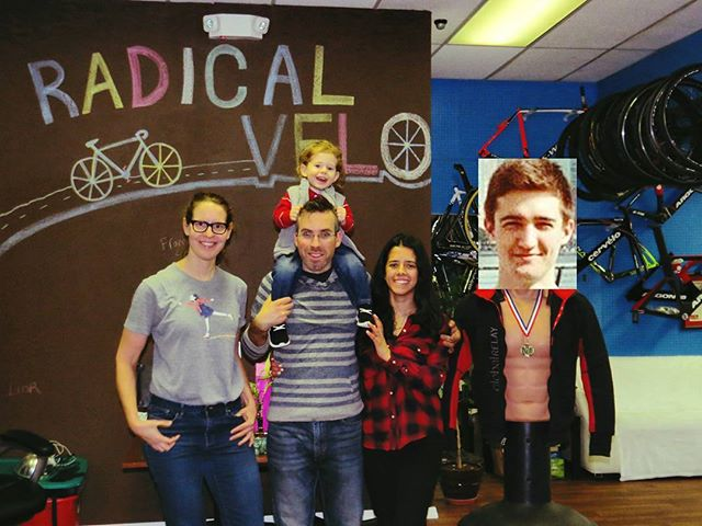 Happy Holidays from the crew  @radicalvelo #sorrydom #happyhanukkah #merrychristmas #winterseason #ebaystore #happyholidays #cycling #familybusiness #dreambig #lovemyjob