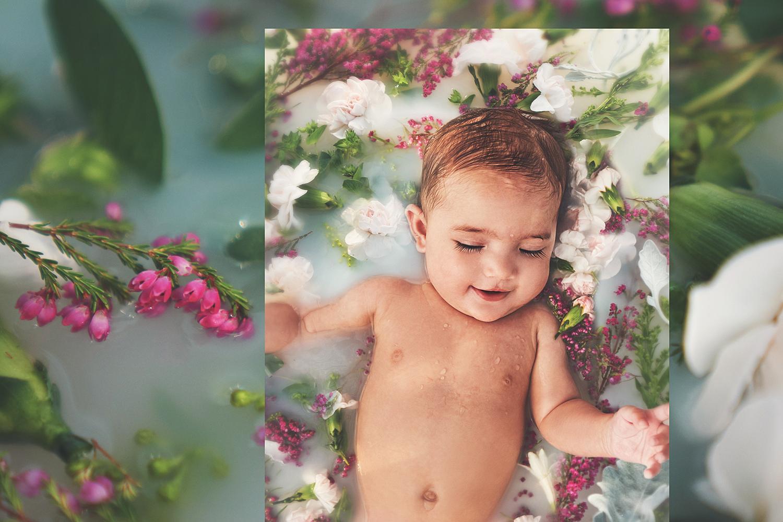 Jules Milk Bath 1 - BrittenPhoto.com