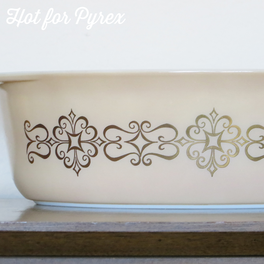 Made In The Usa Rare Htf Unknown Hot For Pyrex