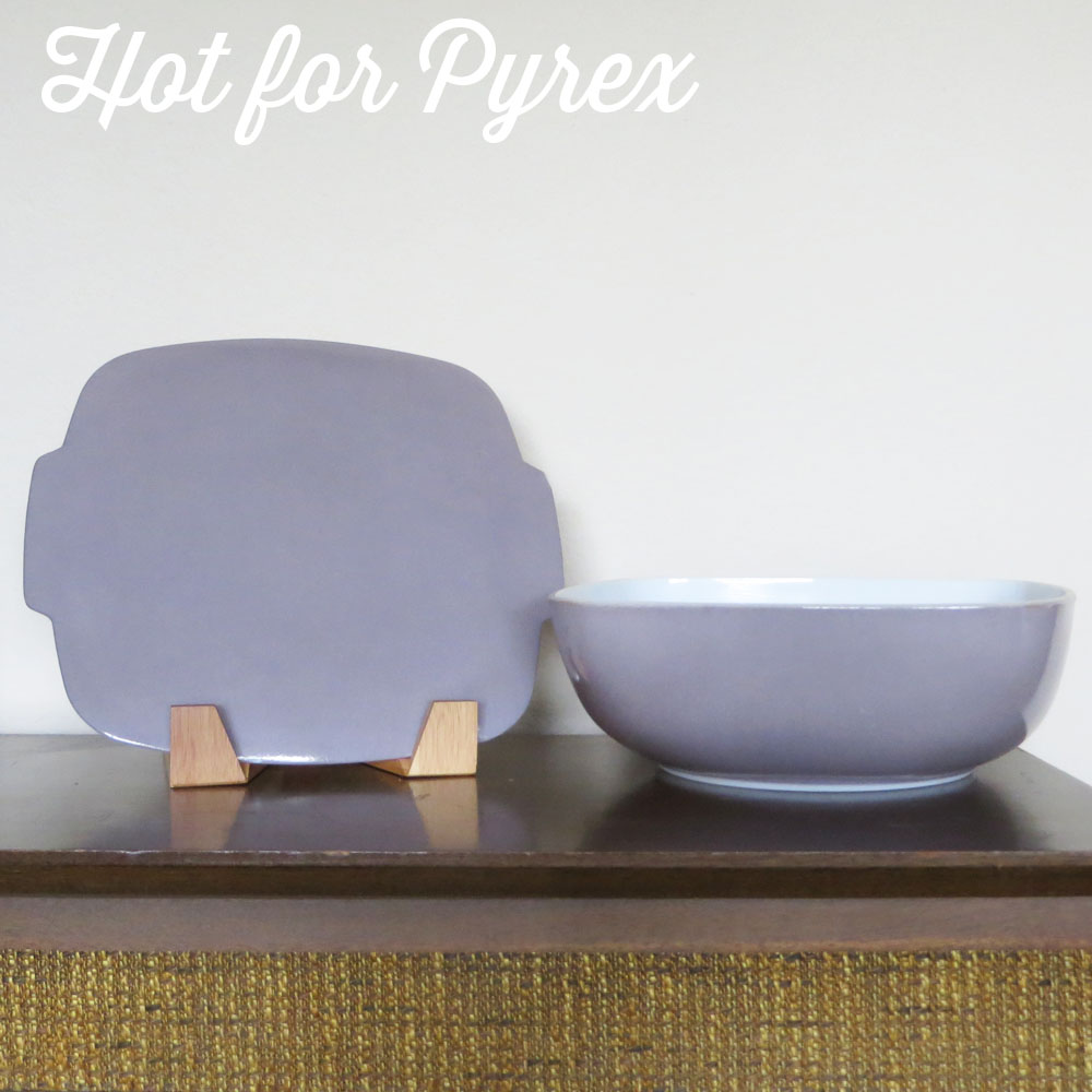 Grey Hostess Bowl
