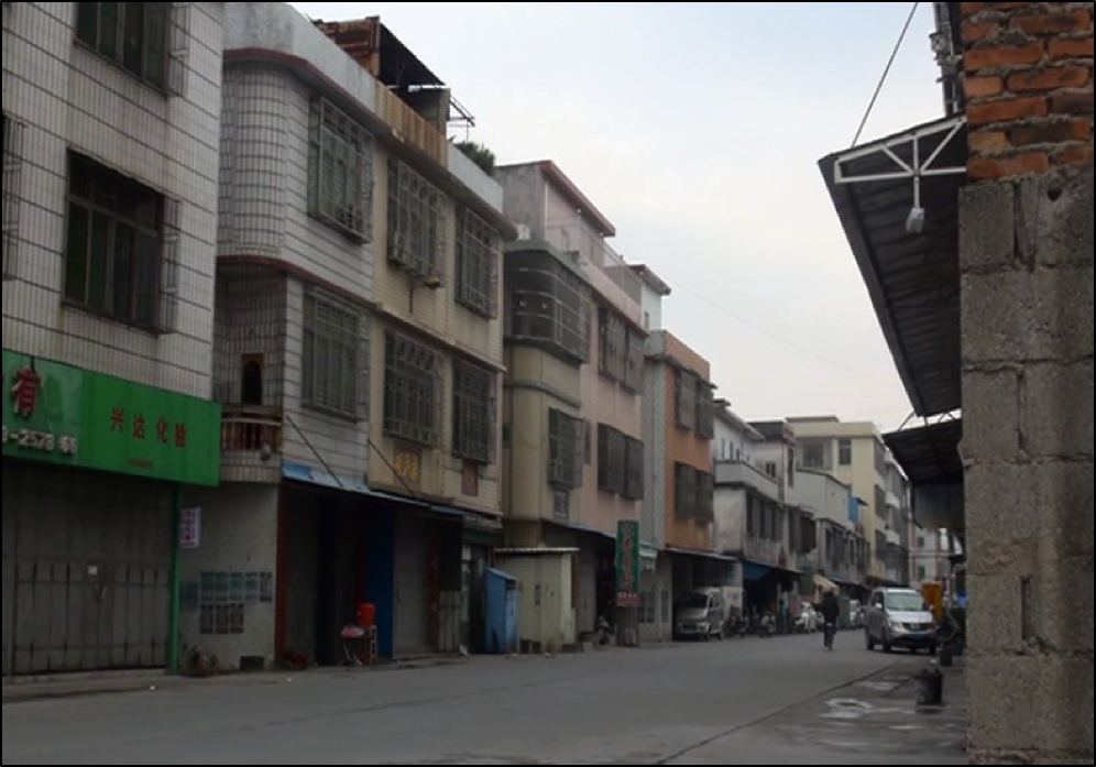 Streets of Guiyu, now devoid of recycling activity. Copyright BAN 2015.
