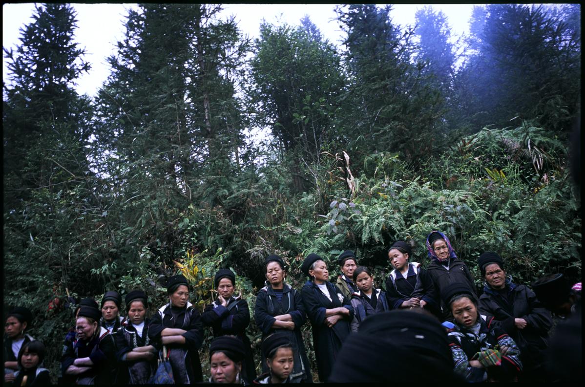 Black H'mong minorities. Lao Cai, Vietnam.