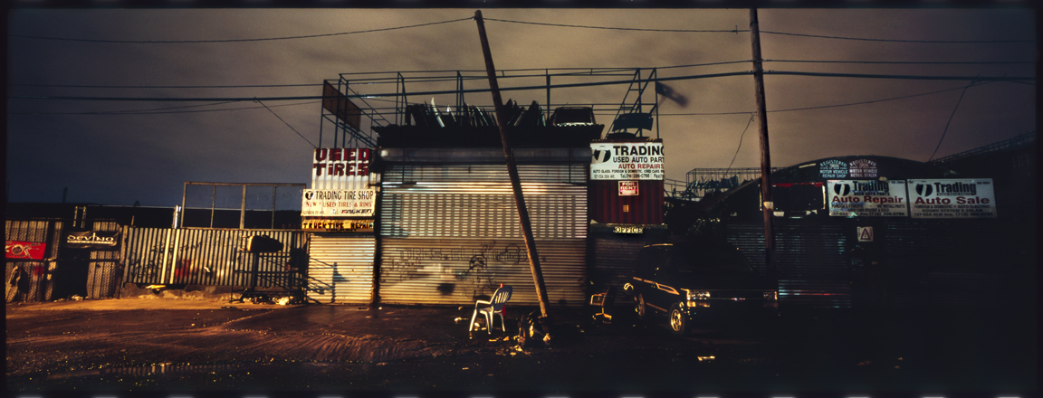 Disappearing shadows. Willets Point.