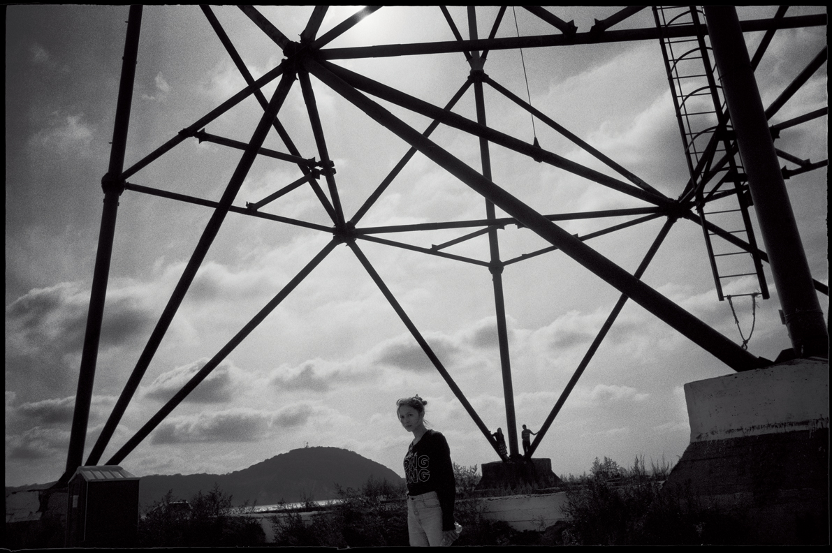 Russian filmmaker Vladlena Sandu. Vladivostok. Russia.