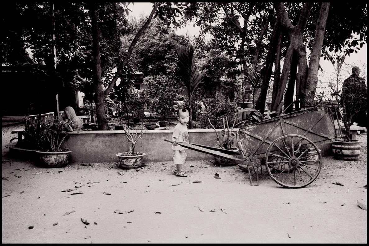 A child. Hanoi, Vietnam.