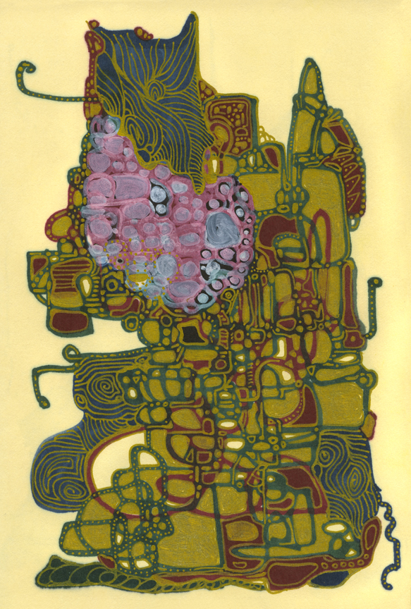 Egyptian  MEDIUM: Mixed media on paper SIZE: 5in x 7in buy →