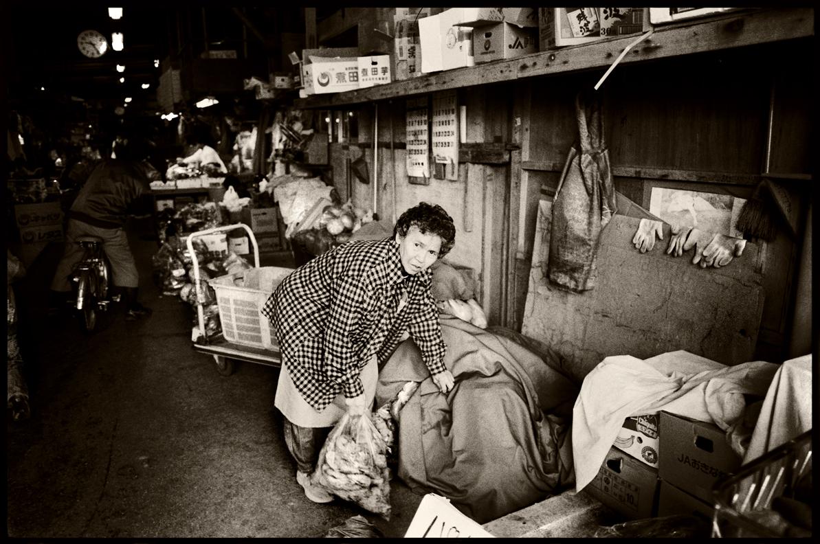 Naha market. Okinawa.