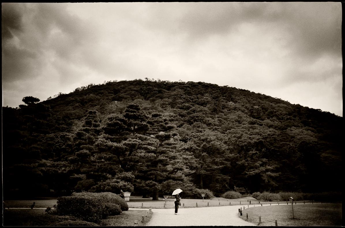 Riturin koen. Takamatsu, Shikoku.