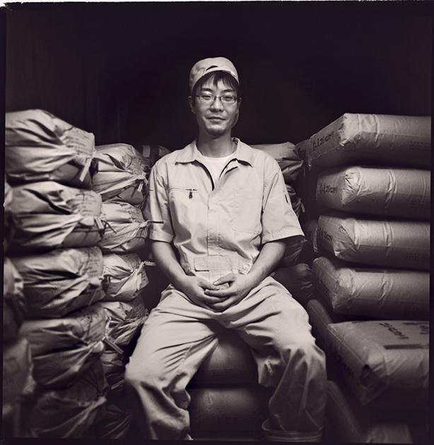 Yamada Hirofumi, this will be is his fifth year at Tedorigawa brewery.