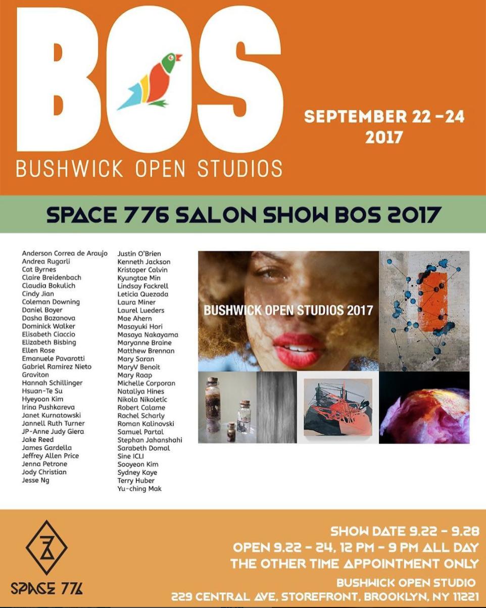 Space 776 : Brooklyn, NY  September 2017