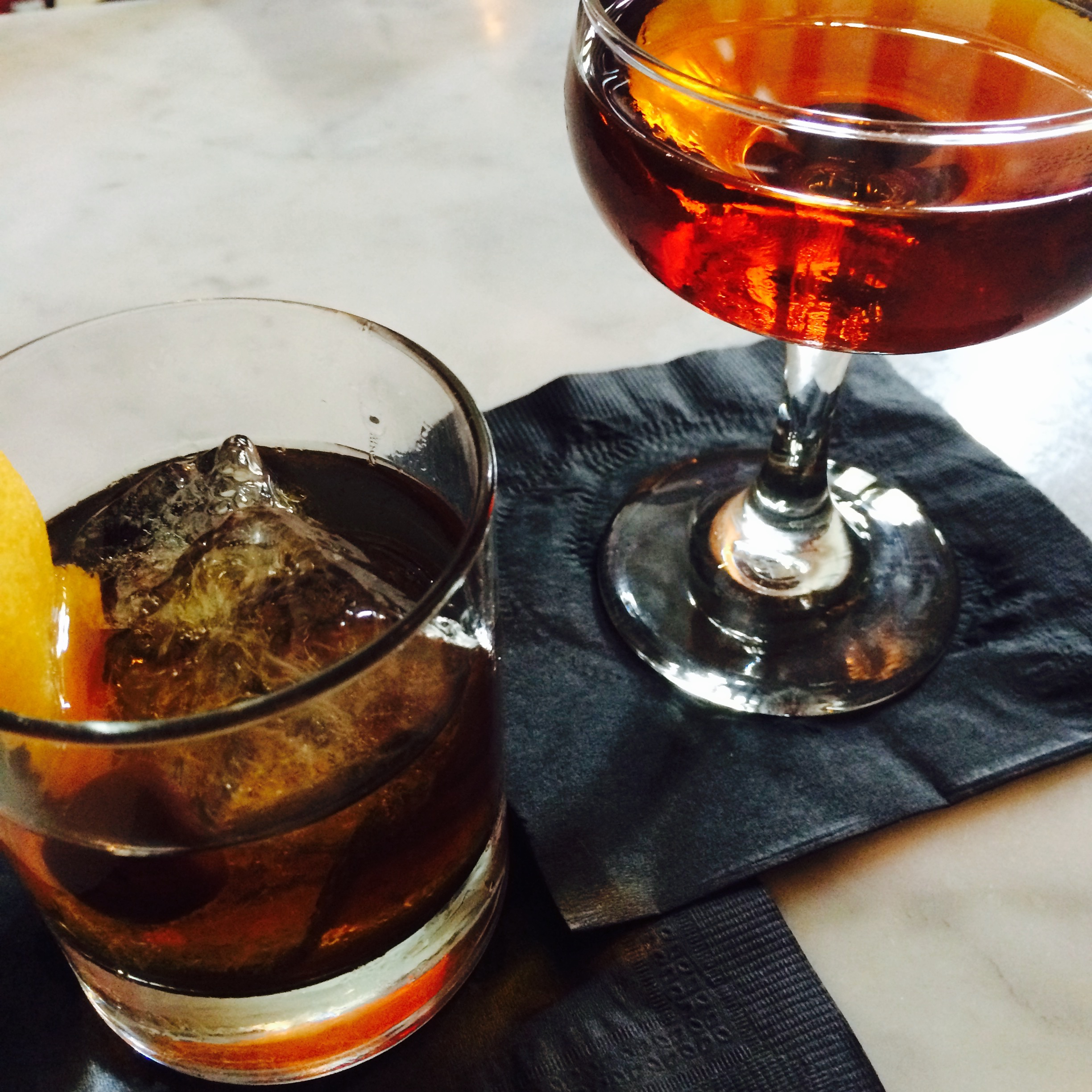 Cricket Old Fashioned & Peater Rabbit at Uva.