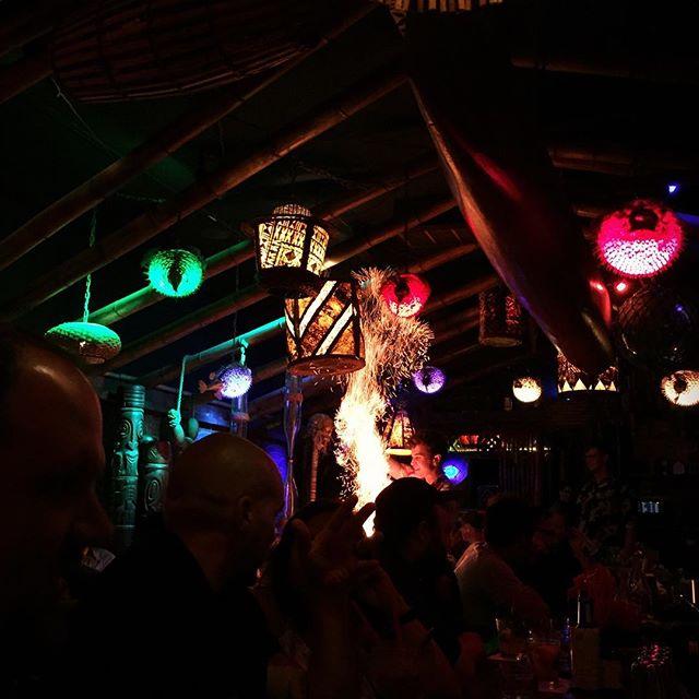 First trip to @halepele and it was great!! #tiki #rum #burntcinnamon #portland #pdx