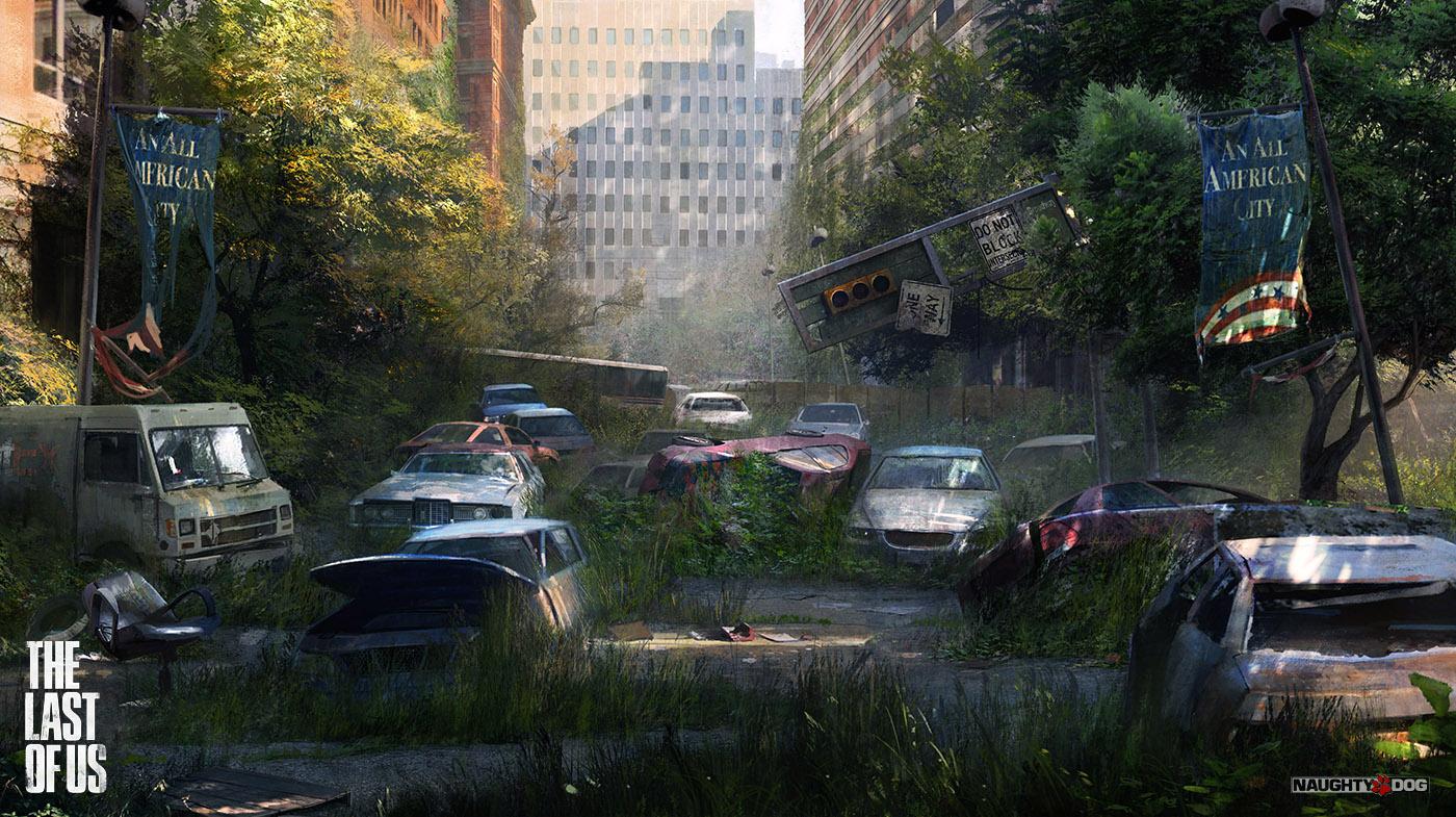 Arte de Maciej Kuciara para o jogo The Last of Us