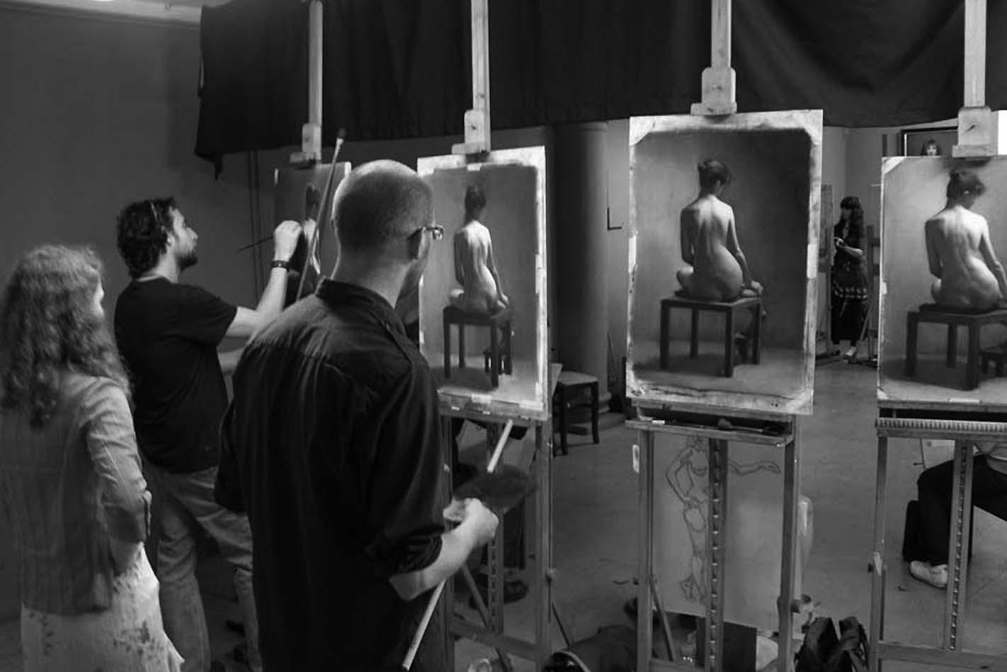 Angel Academy of Art, na Itália