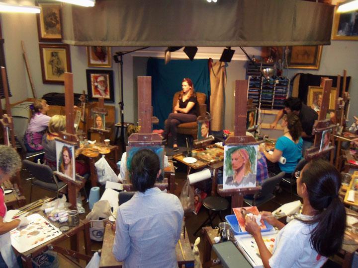 Watts Atelier of the Arts, nos Estados Unidos