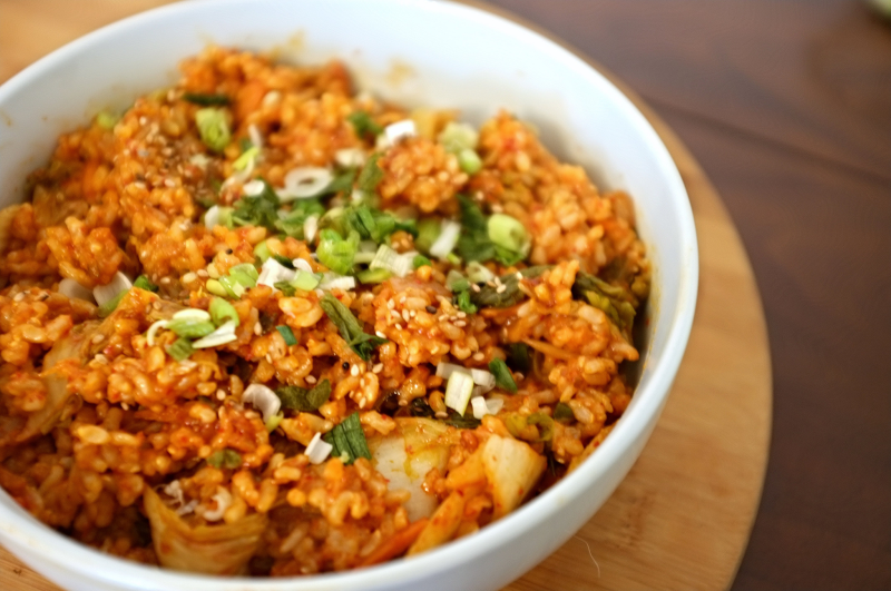 Kimchi Fried Rice (2)