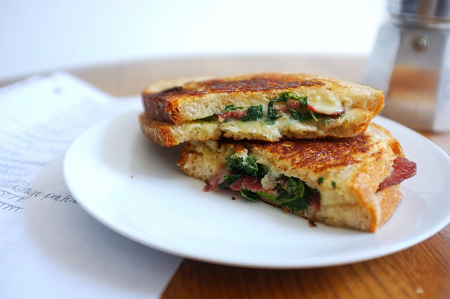 Kashkaval Grilled Cheese Recipe