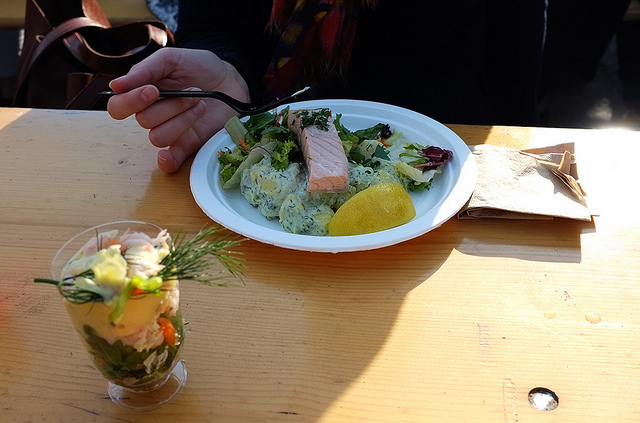 Poached Lox and Dill Potato Salad in Stockholm Melanders - Hill Reeves