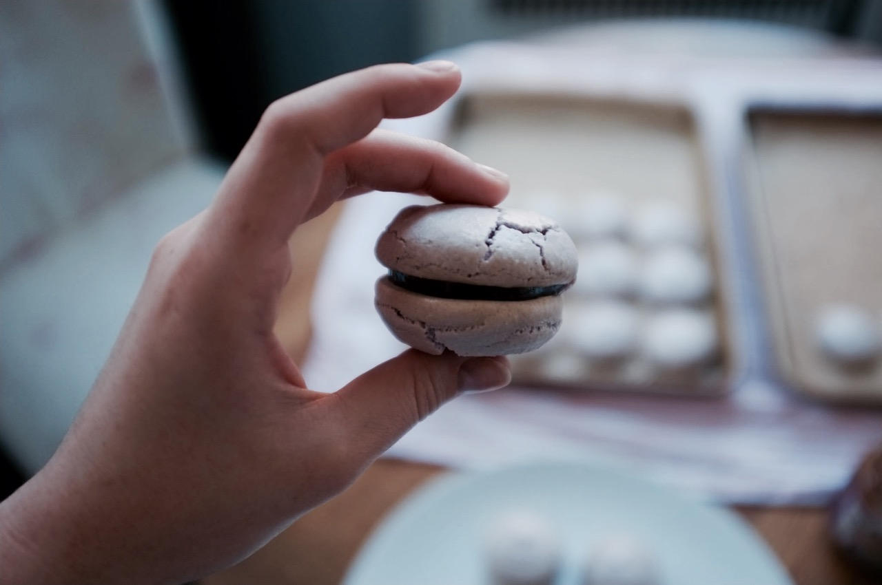 Try The World Fig Macarons Recipe - Hill Reeves