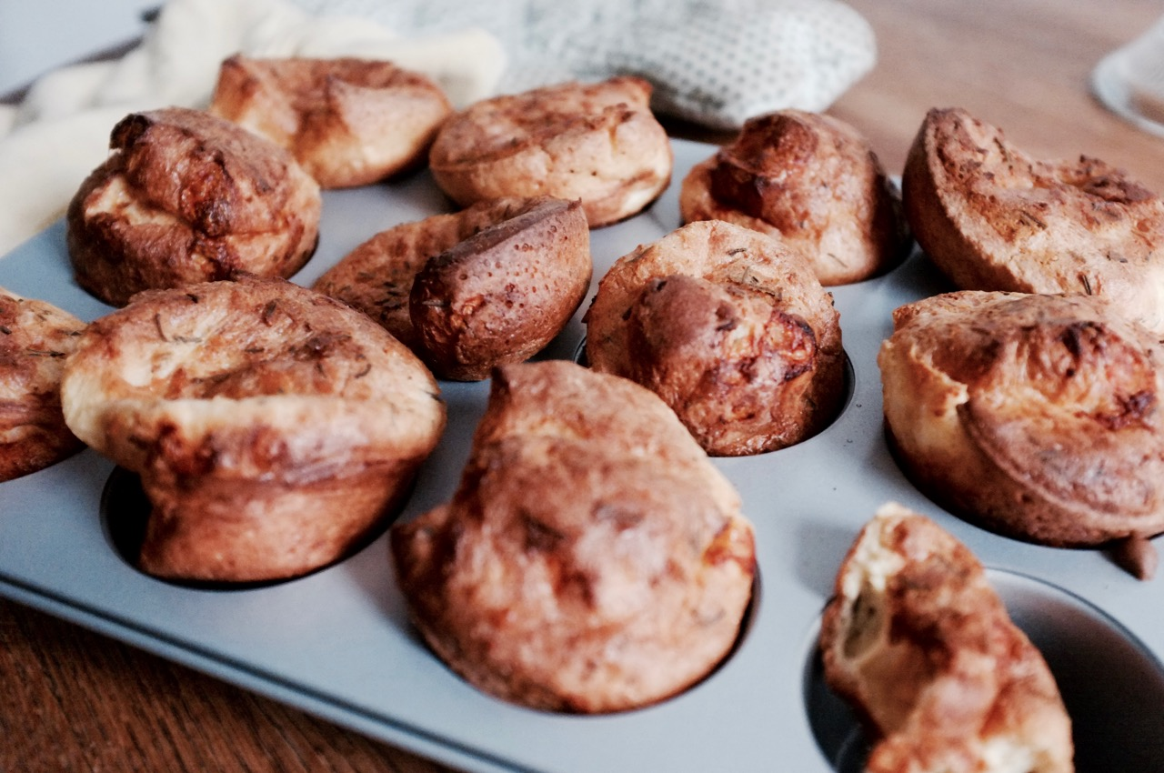 Savory Holiday Popovers - Hill Reeves