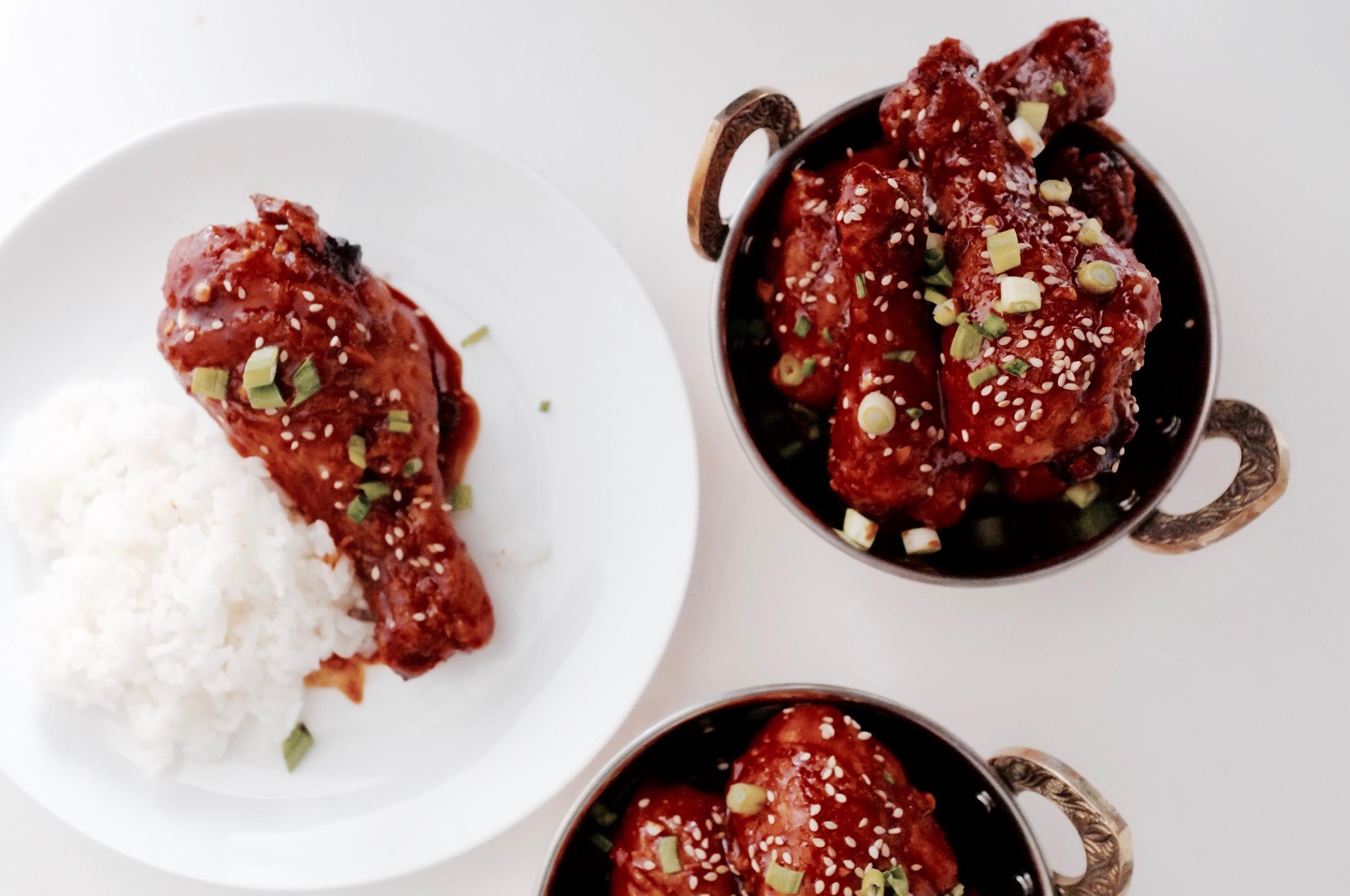 Korean Fried Chicken Recipe - Hill Reeves