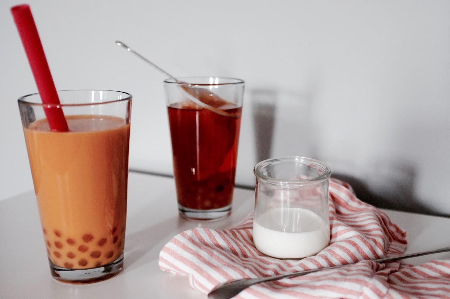 Boba Thai Iced Tea for Try The World - Hill Reeves