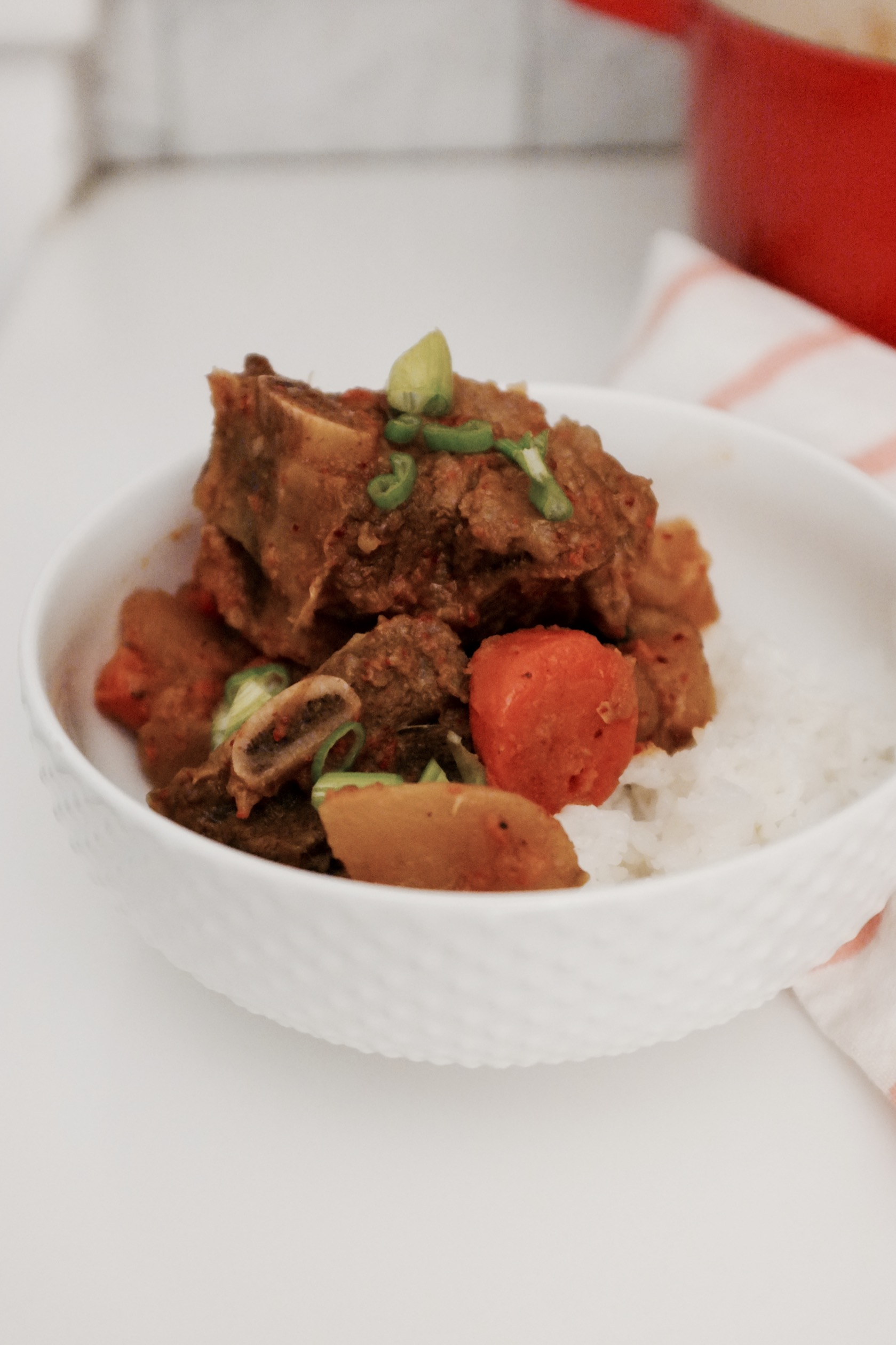 Korean Short Rib Stew | Kalbi jjim - Hill Reevs