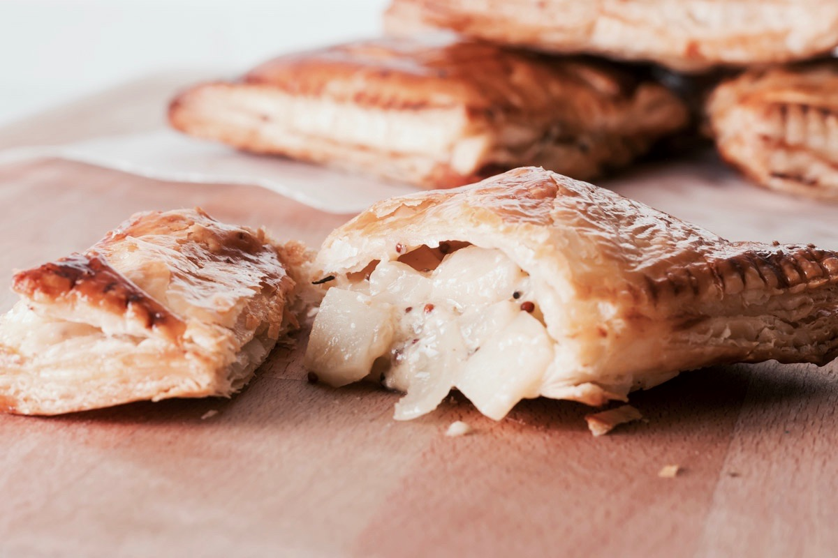 Cheese and Onion Pasty by Krumpli - Hill Reeves