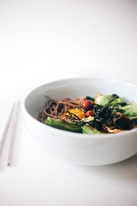 Sukiyaki Soba - Hill Reeves